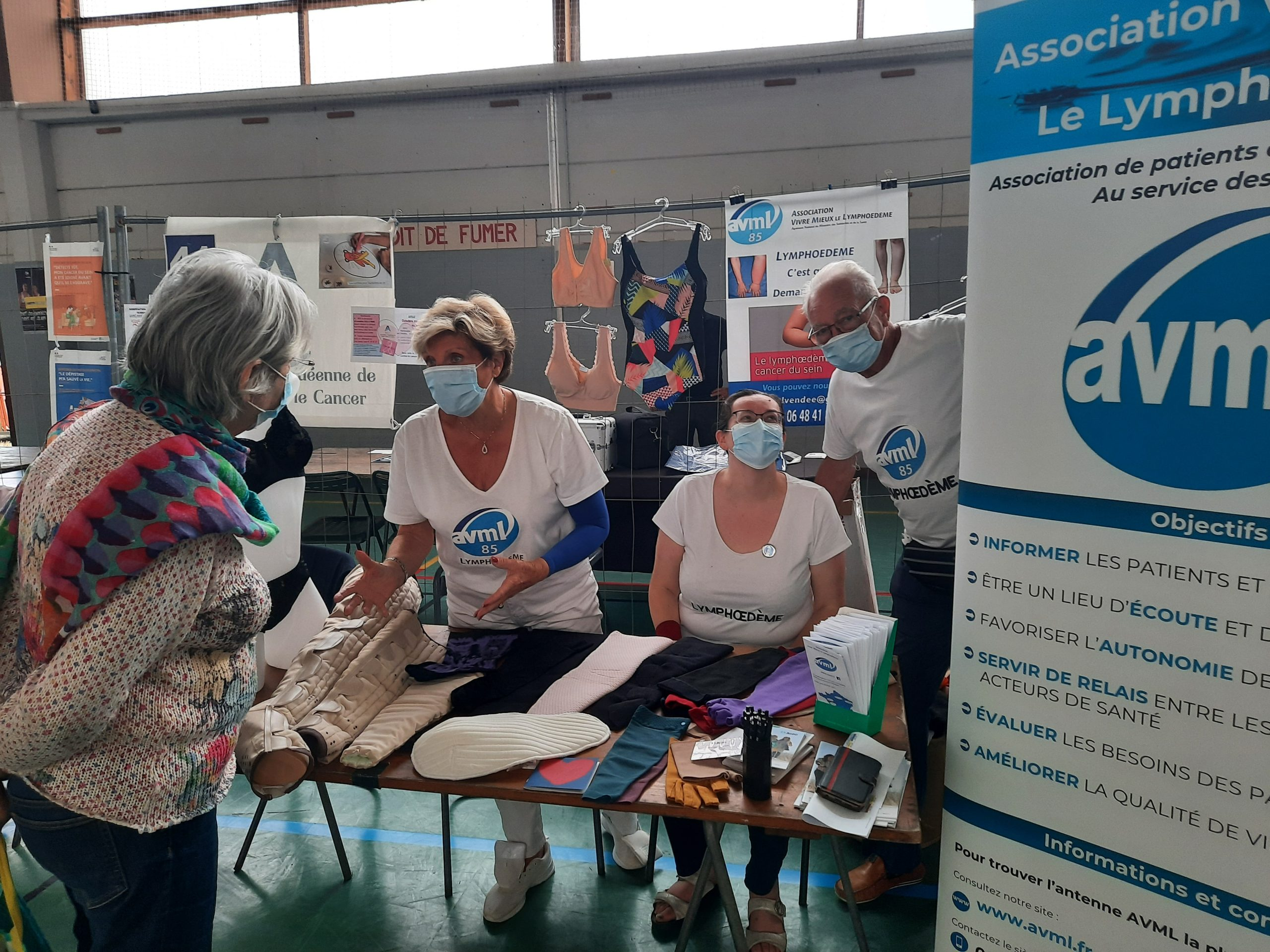 Read more about the article AVML Vendée au forum des associations (2021)