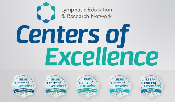 Premiers centres d'excellence dans le diagnostic et le traitement des maladies lymphatiques (2020)